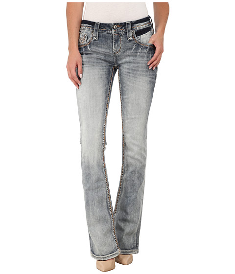 Rock Revival - Sukie B207 Bootcut in Light Indigo (Light Indigo) Women's Clothing