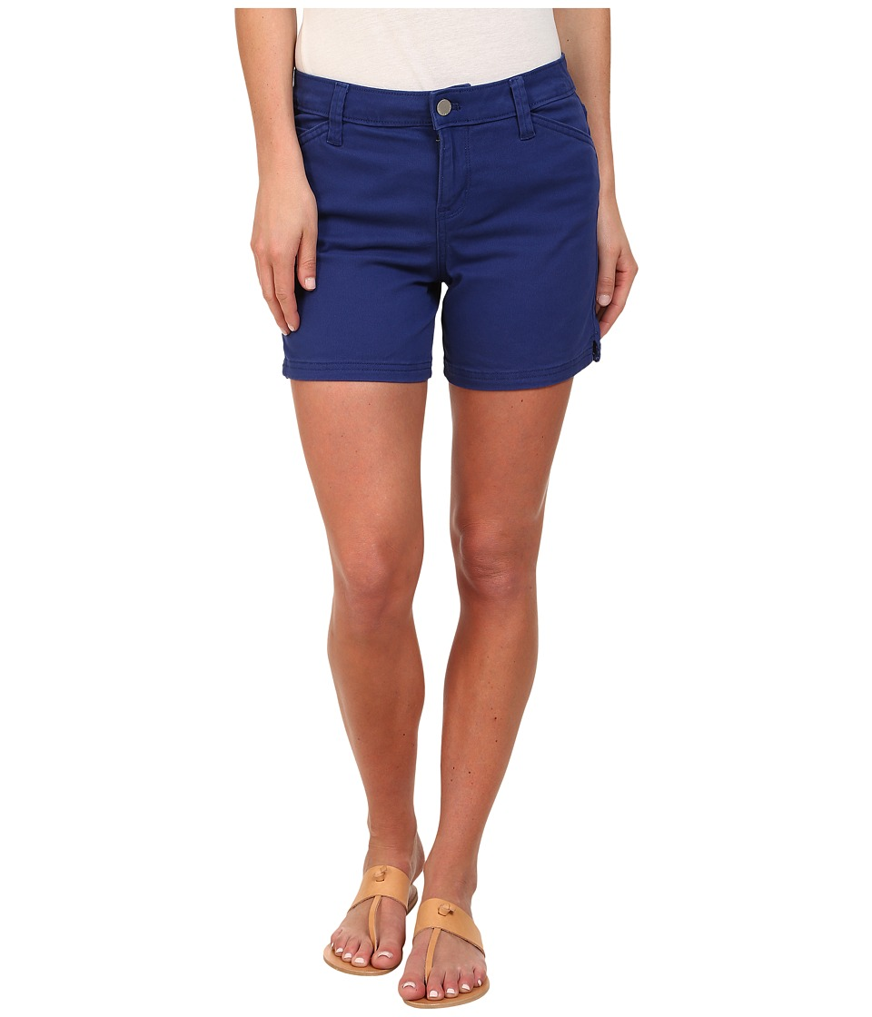 Calvin Klein Jeans - Five Pocket Colour Short (Deep Cobalt) Women's Shorts