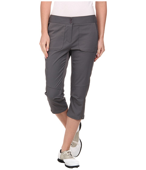 LIJA - Terra Match Play 3/4 Pant (Charcoal) Women's Casual Pants