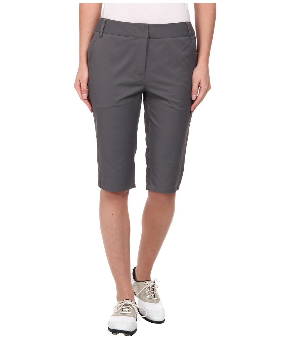 LIJA - Terra Shotgun Knee Short (Charcoal) Women's Shorts