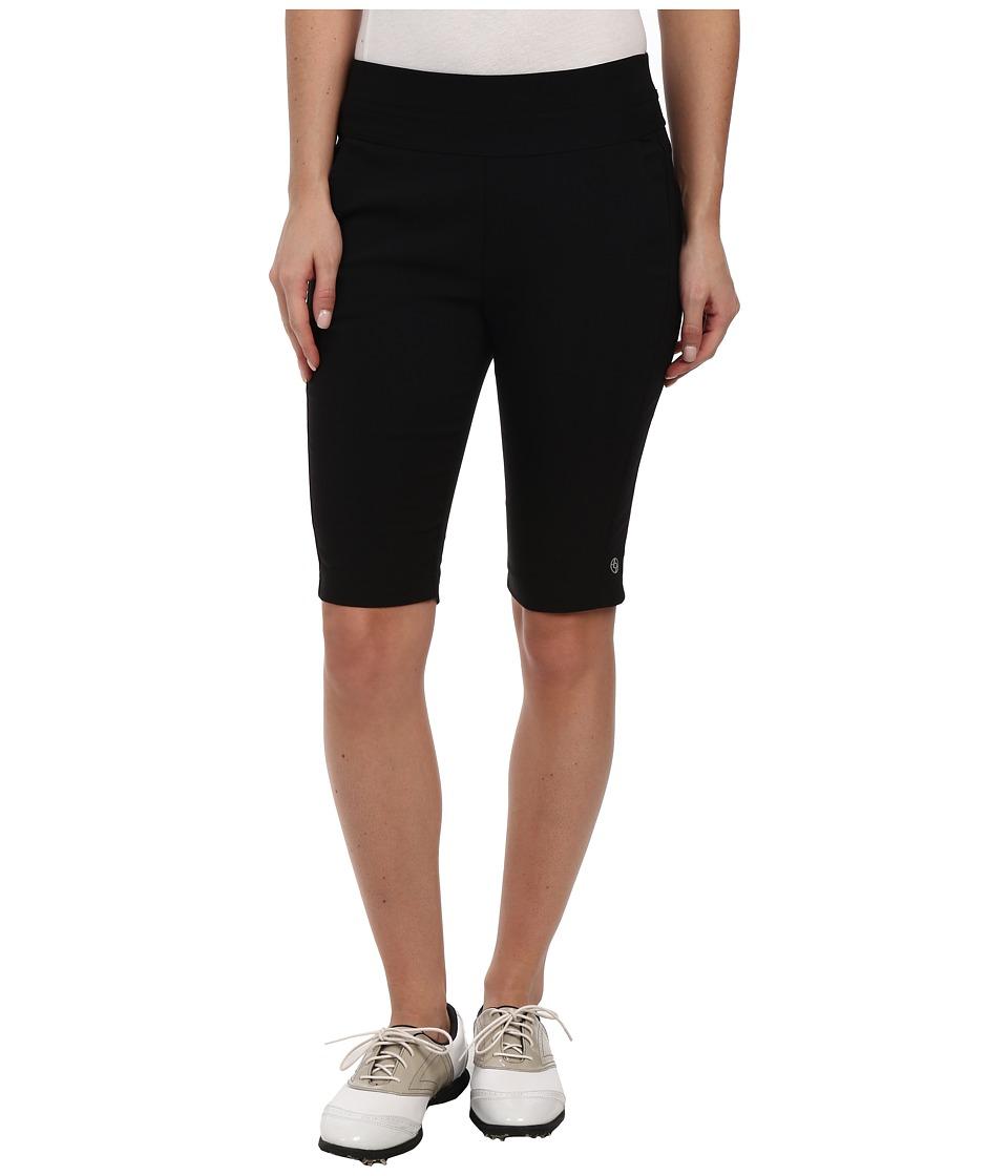 LIJA - Light Bengal Best Friend Knee Short (Black) Women