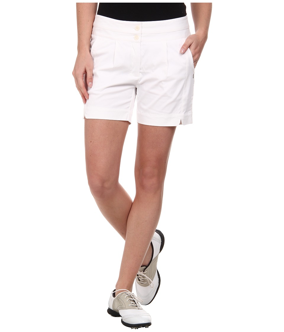 LIJA - Terra League Shorts (White) Women