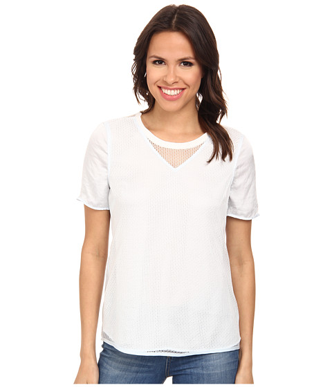 Calvin Klein Jeans - Mesh Combo Tee (Ambiance) Women's T Shirt