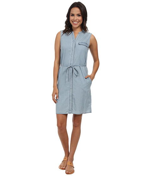 Calvin Klein Jeans - Utility Chic Dress (Light Indigo) Women's Dress