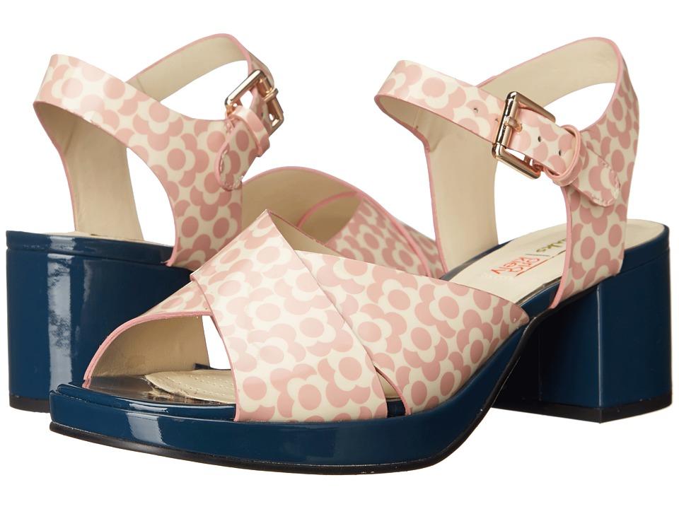 Clarks - Orla Blanche (Pink Floral) Women