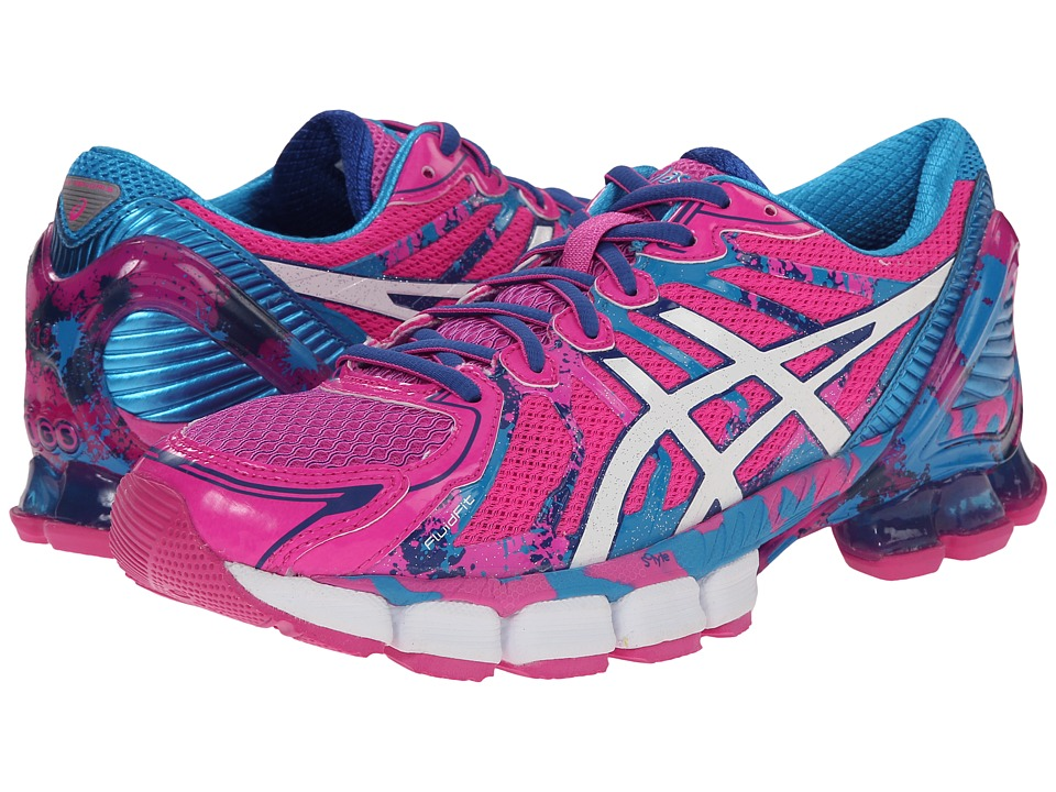 ASICS - Gel-Sendai 2 (Pink Glow/Navy/Turquoise) Women's Running Shoes