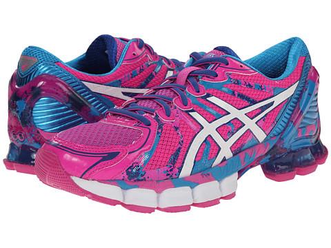 ASICS - Gel-Sendai 2 (Pink Glow/Navy/Turquoise) Women's Running Shoes