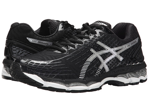 ASICS - GEL-Nimbus 17 (Black/Silver/Onyx) Men's Running Shoes