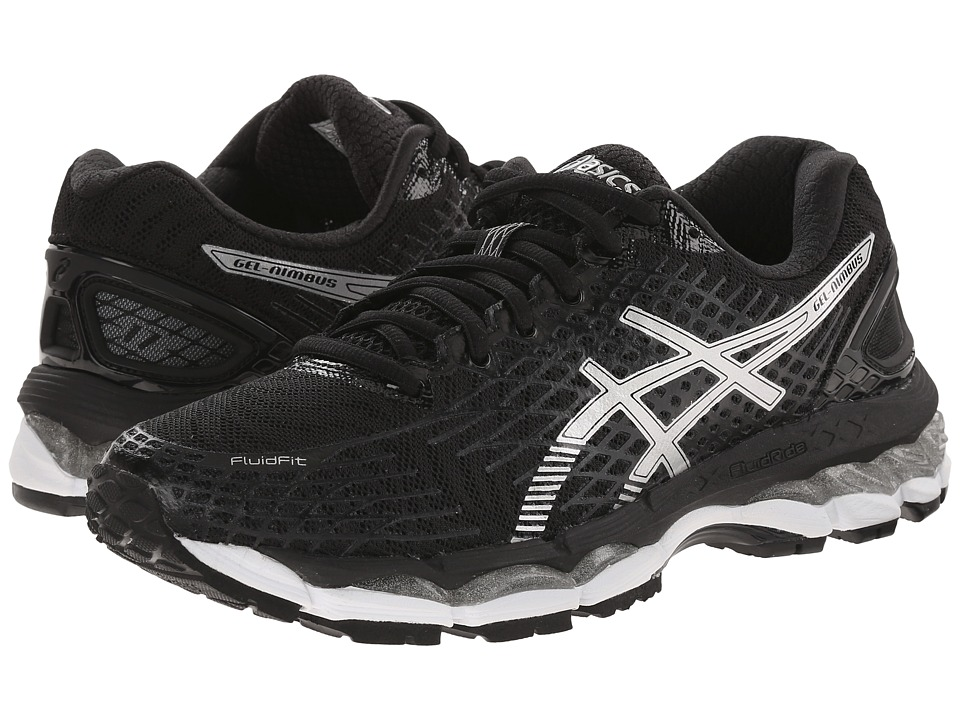ASICS - GEL-Nimbus 17 (Black/Silver/Onyx) Women's Running Shoes