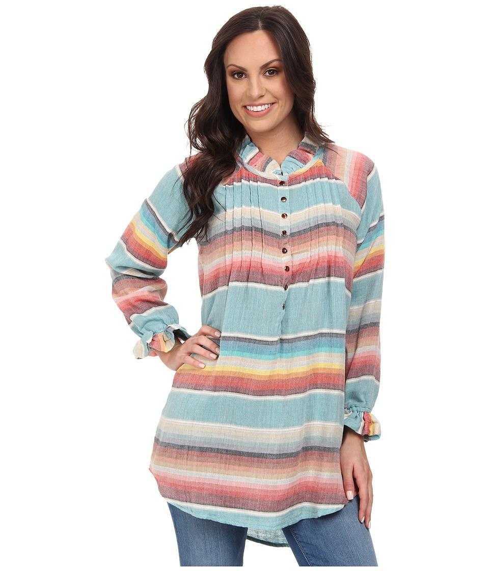 Tasha Polizzi - California Tunic (Chambray 2) Women's Blouse