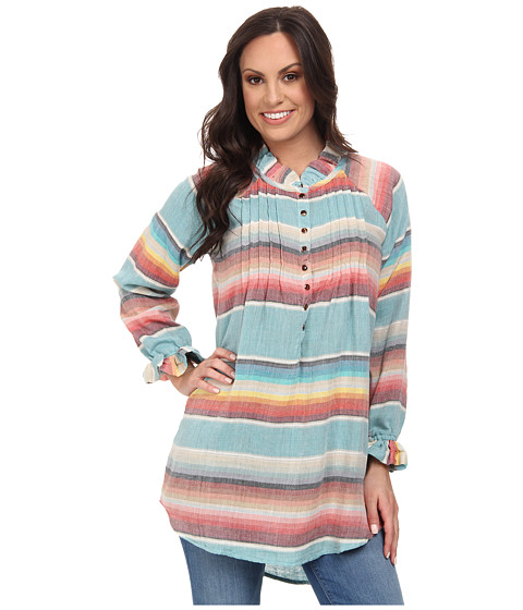 Tasha Polizzi - California Tunic (Chambray 2) Women's Blouse