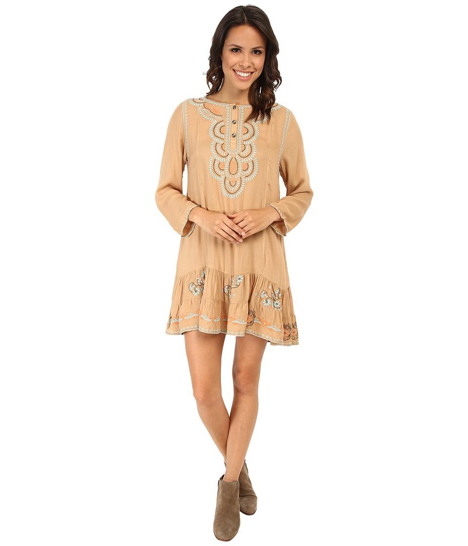 Tasha Polizzi - Anasazi Tunic (Straw) Women's Clothing