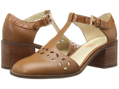 Clarks - Orla Bibi (Tan Leather) Women's Shoes