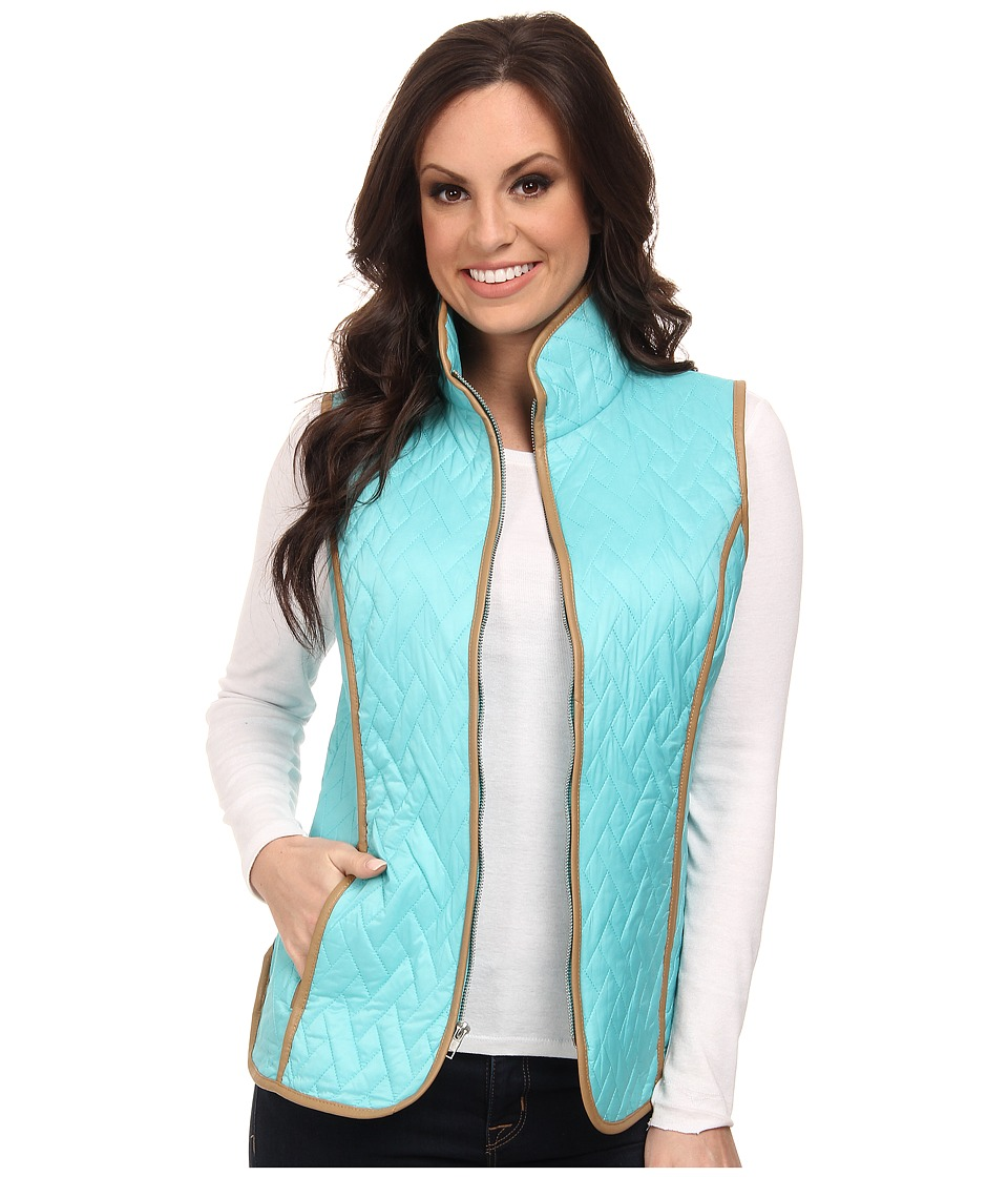 Tasha Polizzi - Riding Club Vest (Blue Diamond) Women