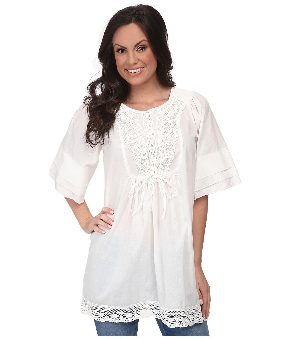 Tasha Polizzi - Samantha Shirt (White Wash) Women's Blouse