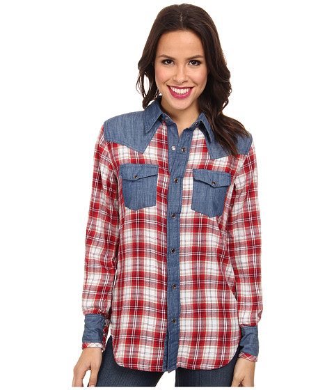 Tasha Polizzi - Warrior Shirt (Crimson) Women's Clothing