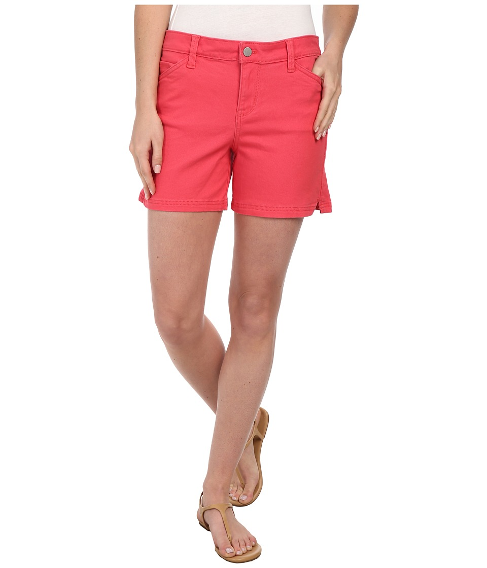 Calvin Klein Jeans - Five Pocket Colour Short (Coral Flower) Women's Shorts
