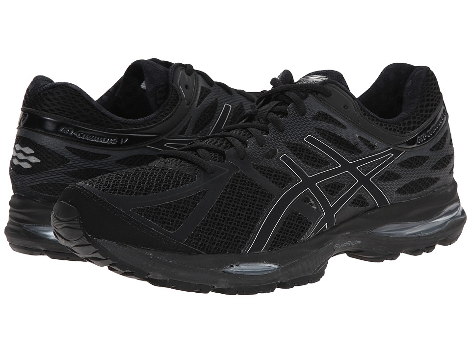 ASICS - Gel-Cumulus 17 (Black/Silver/Onyx) Men