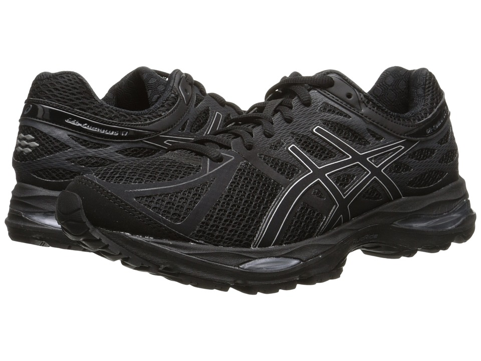 ASICS - Gel-Cumulus 17 (Black/Silver/Onyx) Women's Running Shoes