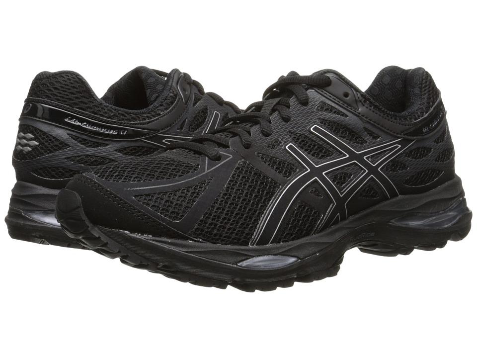 ASICS - Gel-Cumulus 17 (Black/Silver/Onyx) Women's Running Shoes