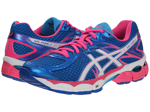 ASICS - GEL-Flux 2 (Electric Blue/White/Blue) Women's Running Shoes