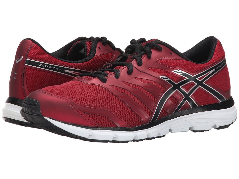 ASICS - Gel-Zaraca 4 (Deep Ruby/Onyx/Silver) Men's Running Shoes