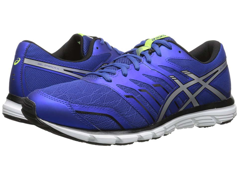 ASICS - Gel-Zaraca 4 (Blue/Silver/Onyx) Men's Running Shoes