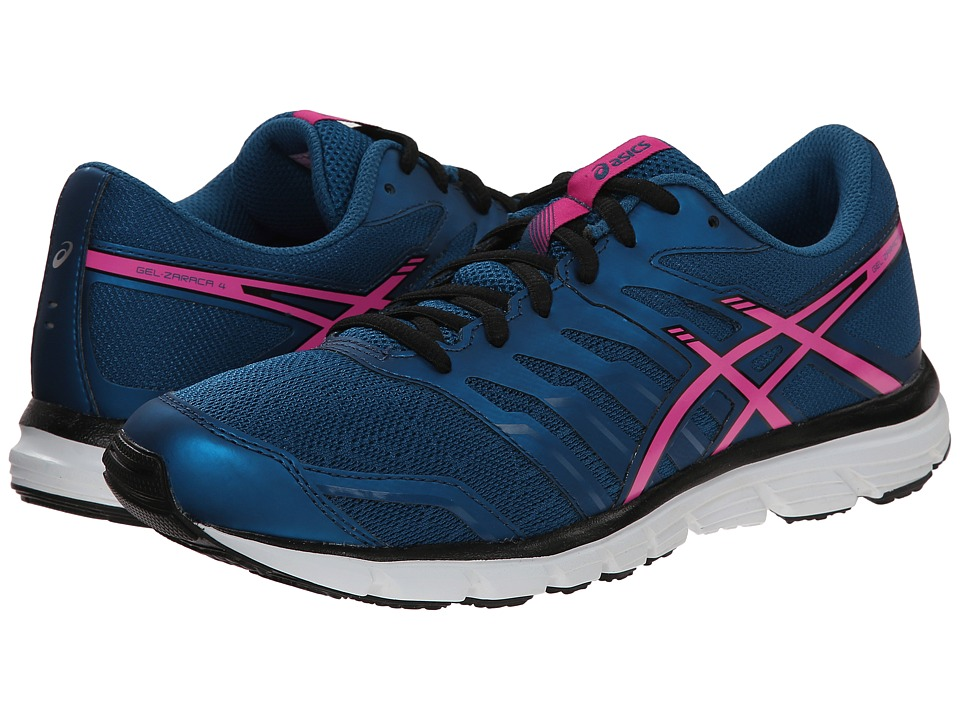 ASICS - Gel-Zaraca 4 (Mosaic Blue/Pink Glow/Onyx) Women's Running Shoes