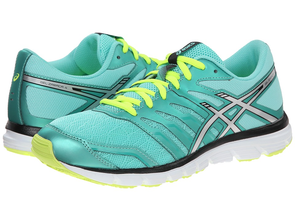 ASICS - Gel-Zaraca 4 (Aqua Mint/Indigo Blue/Onyx) Women's Running Shoes