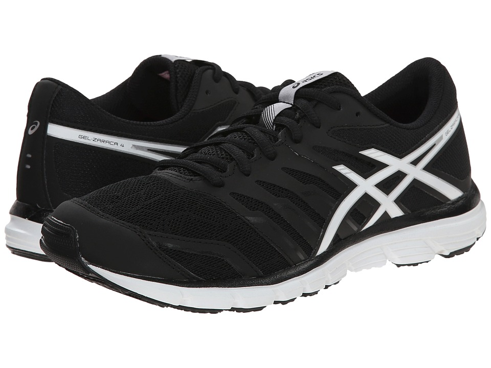 ASICS - Gel-Zaraca 4 (Black/White/Silver) Women's Running Shoes