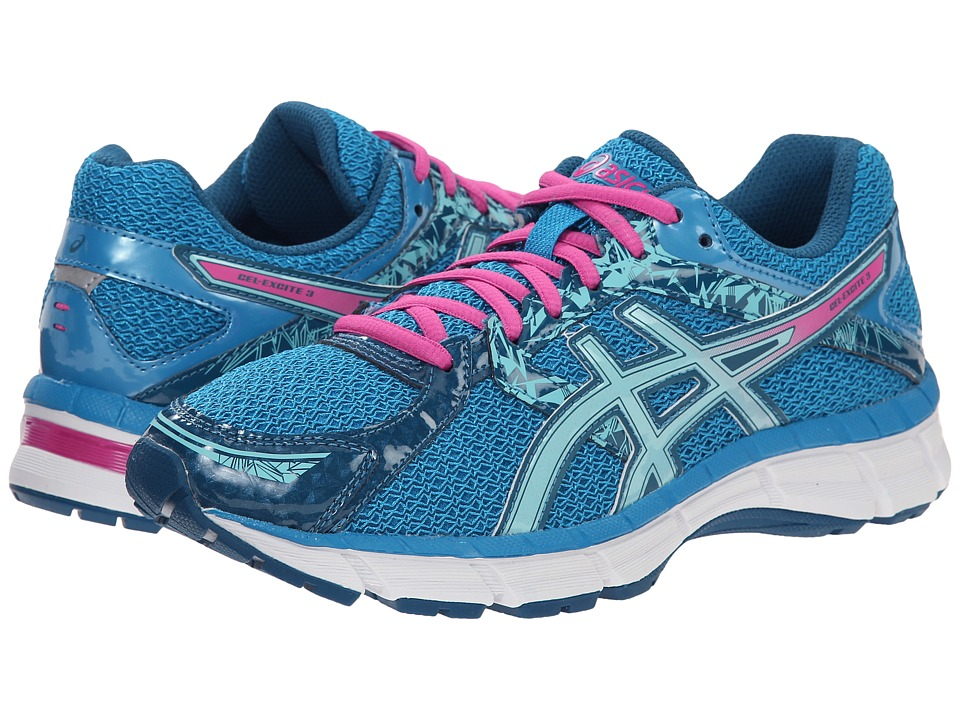 ASICS - Gel-Excite 3 (Turquoise/Aqua Splash/Pink) Women's Running Shoes