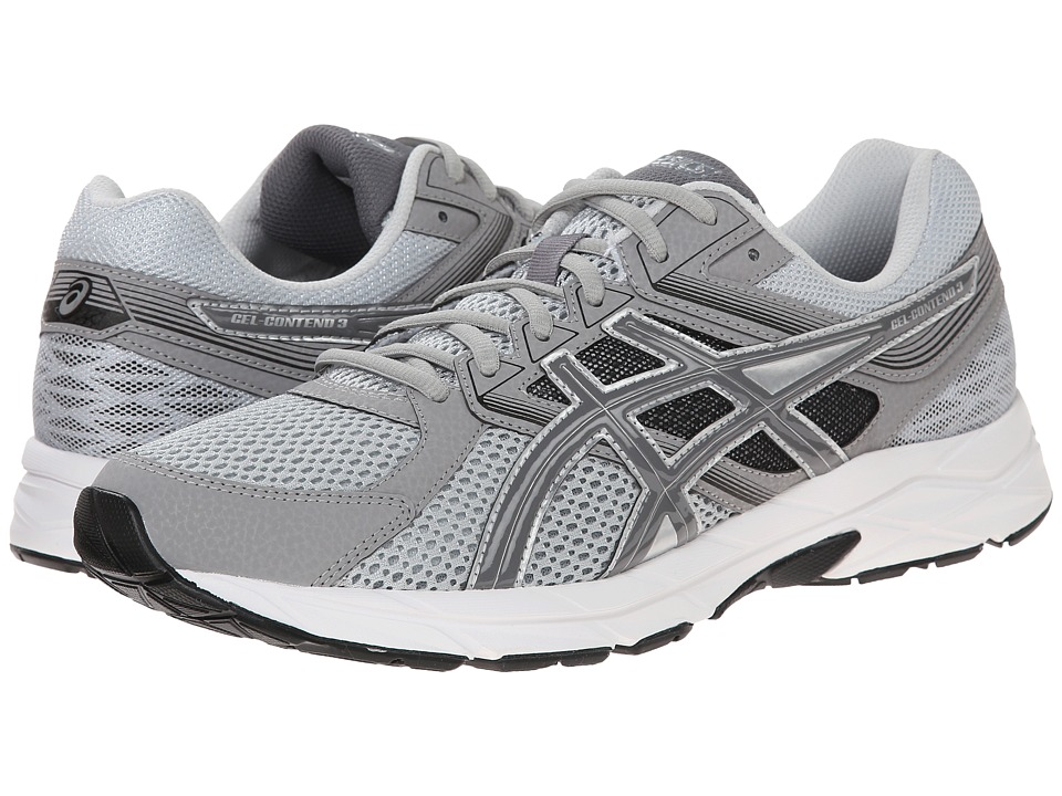 ASICS GEL-Contend 3 (Light Grey/Titanium/Black) Men