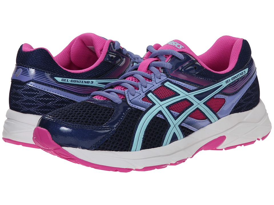 ASICS - GEL-Contend 3 (Indigo Blue/Aqua Splash) Women's Running Shoes