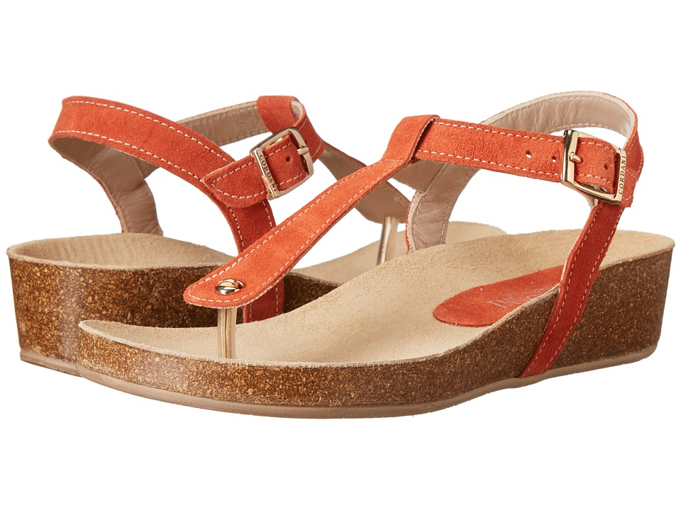 Cordani - Gene (Orange Suede) Women's Sandals