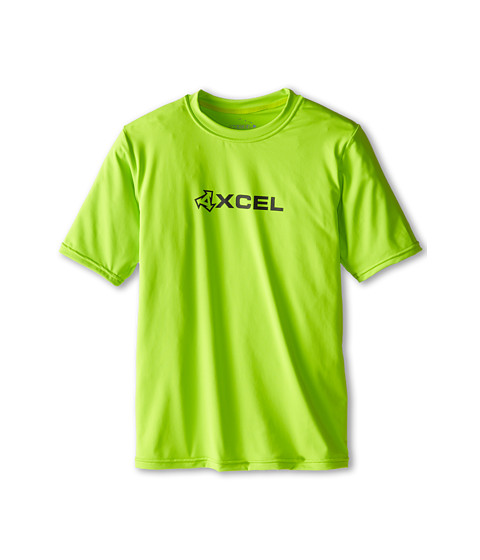 XCEL Wetsuits - Robben 4-Way Series S/S UV (Little Kids/Big Kids) (Green Apple) Men