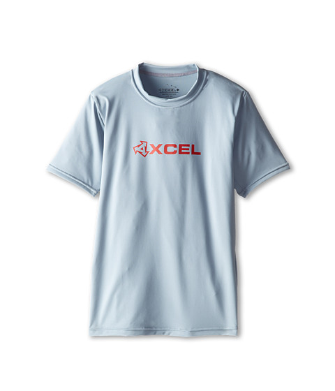 XCEL Wetsuits - Robben 4-Way Series S/S UV (Little Kids/Big Kids) (Alloy) Men