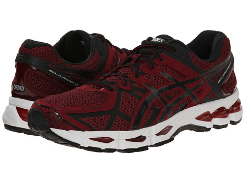 ASICS - GEL-Kayano 21 (Deep Ruby/Black/Silver) Men's Running Shoes