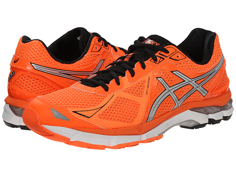 ASICS - GT-2000 3 (Hot Orange/Silver/Black) Men's Running Shoes