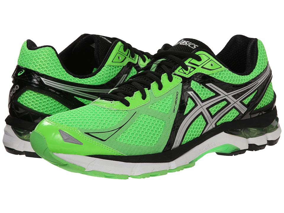ASICS - GT-2000 3 (Green Gecko/Silver/Black) Men's Running Shoes
