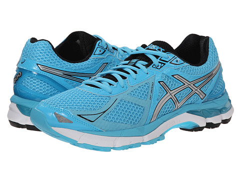 ASICS - GT-2000 3 (Turquoise/Silver/Black) Women's Running Shoes
