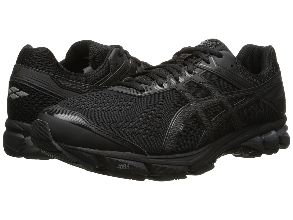 ASICS - GT-1000 4 (Black/Onyx/Black) Men