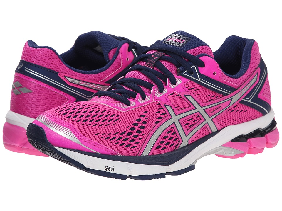 ASICS - GT-1000 4 (Pink Glow/Silver/Indigo Blue) Women's Running Shoes