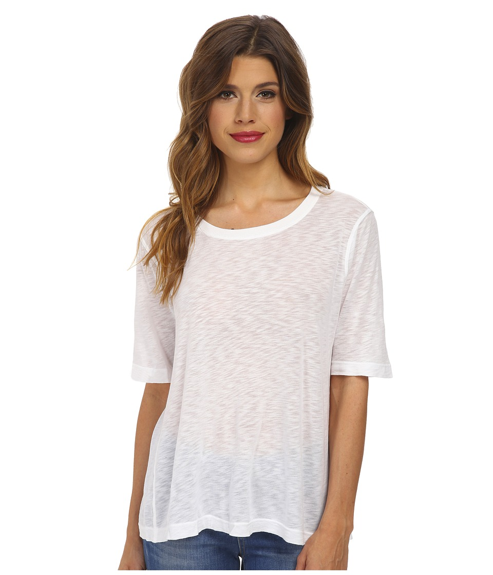 Splendid - Slub Tee (White) Women's T Shirt