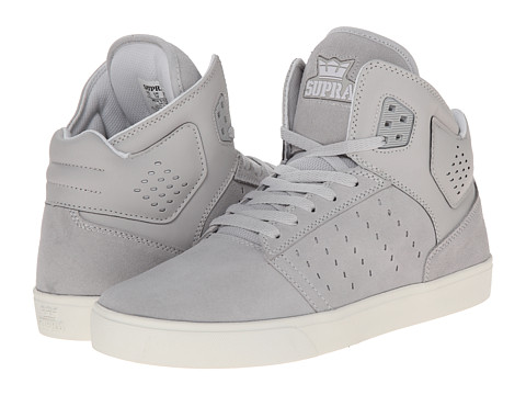 Supra - Atom (Light Grey/White) Men's Skate Shoes