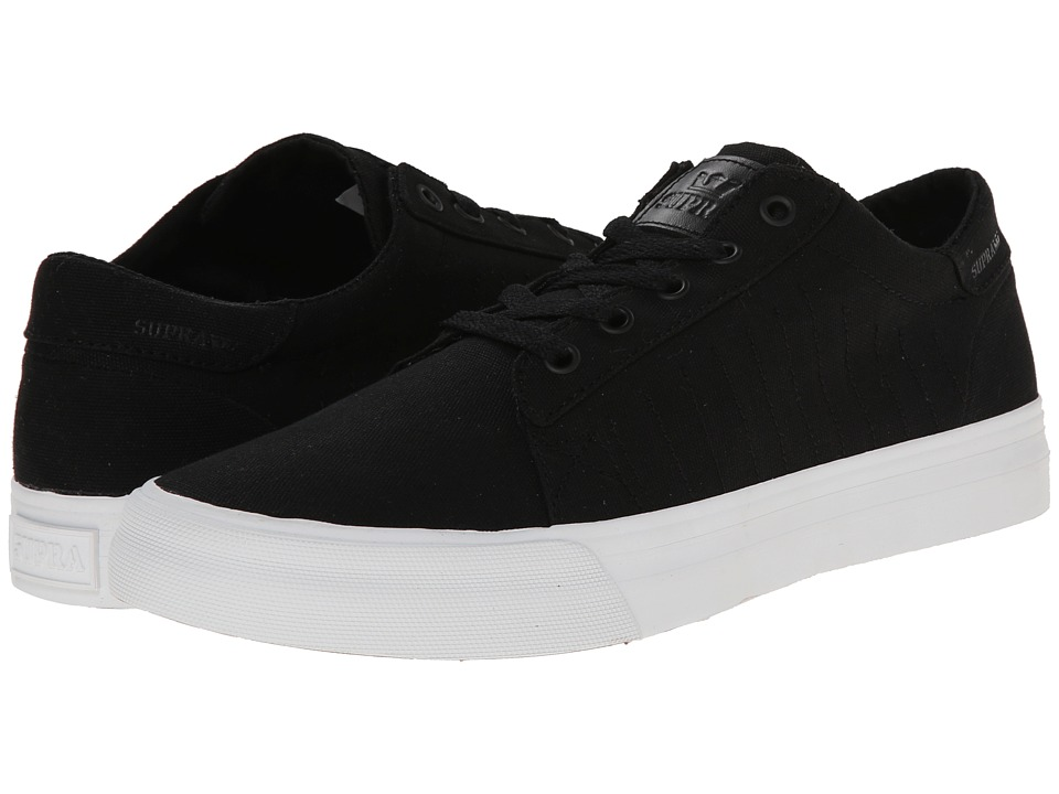 Supra - Belmont D (Black/White) Men's Skate Shoes