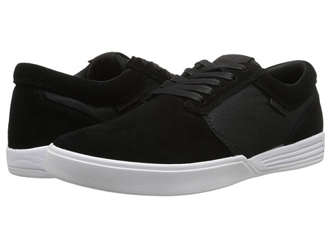 Supra - Hammer (Black/White) Men's Skate Shoes