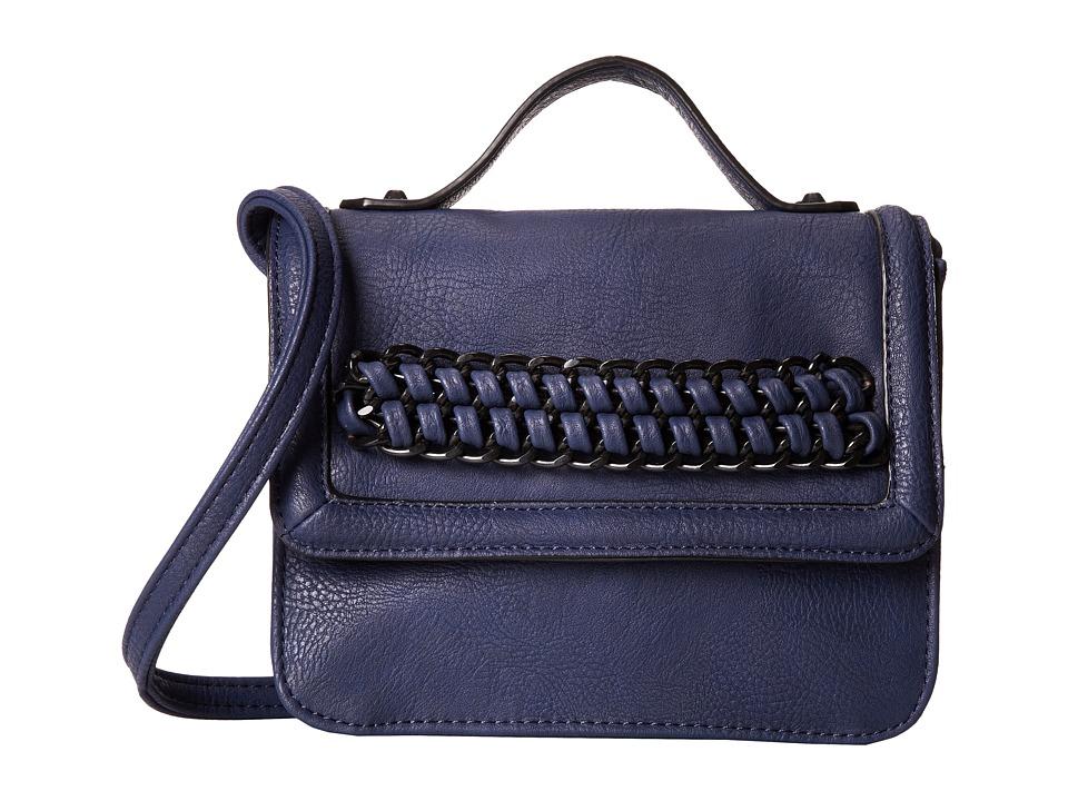 BCBGeneration - The Icon Chain Crossbody (Eclipse Blue) Cross Body Handbags
