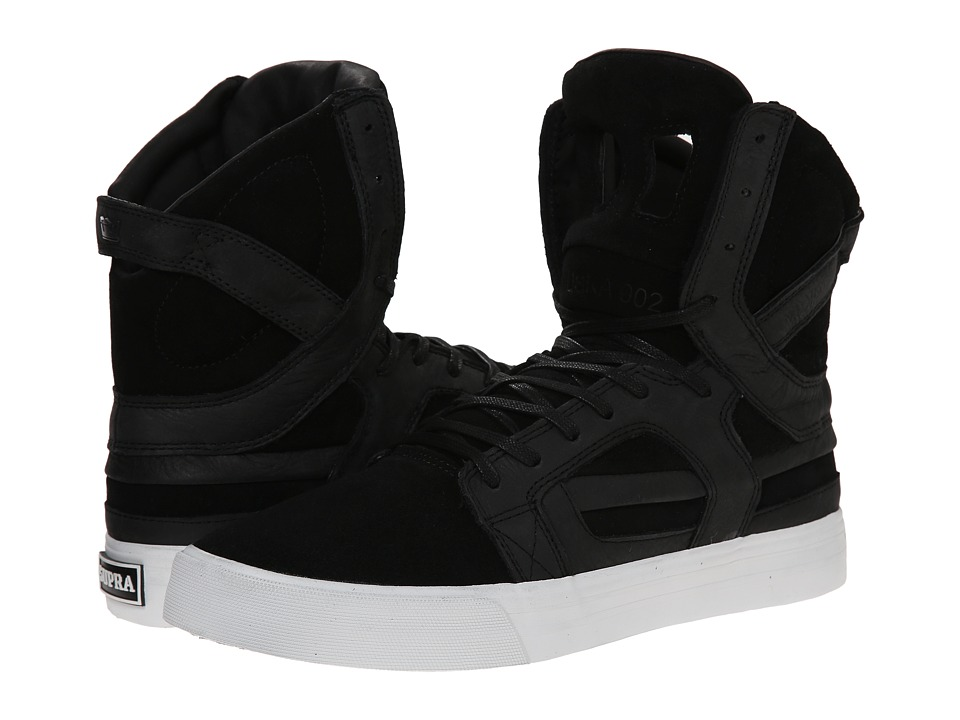 Supra - Skytop II HF (Black/White) Men's Skate Shoes