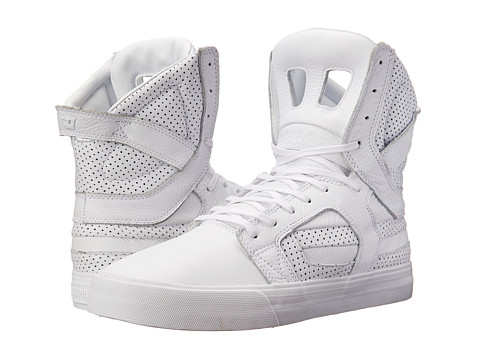 Supra - Skytop II HF (White/White) Men's Skate Shoes