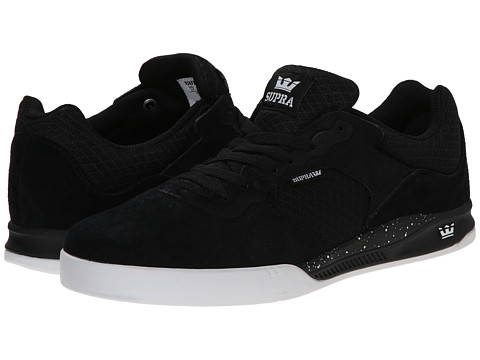 Supra - Avex (Black/White/White) Men